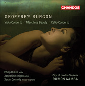 Album artwork for Burgon: Viola & Cello Concerto