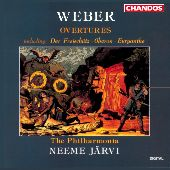 Album artwork for Weber: Overtures