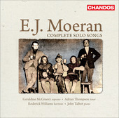 Album artwork for E. J. Moeran: Complete Solo Songs