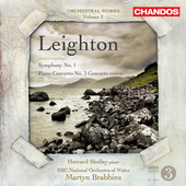 Album artwork for Leighton: Symphony No.1 & Piano Concerto No.3
