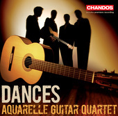 Album artwork for Aquarelle Guitar Quartet: Dances