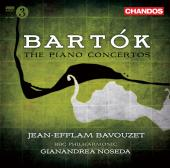 Album artwork for Bartok: The Piano Concertos / Bavouzet