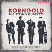 Album artwork for Korngold: The String Quartets / Doric Quartet