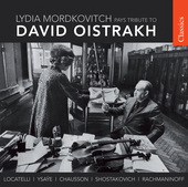 Album artwork for Lydia Mordkovitch: Oistrakh Tribute