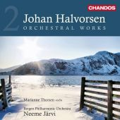 Album artwork for Halvorsen: Orchestral Works, Vol. 2