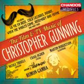Album artwork for The Film and TV Music of Christopher Gunning