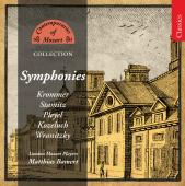 Album artwork for Contemporaries of Mozart - Symphonies