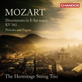 Album artwork for Mozart: Divertimento / The Hermitage String Trio