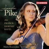 Album artwork for Jennifer Pike plays French Violin Sonatas