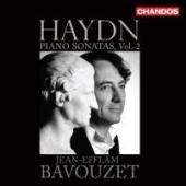 Album artwork for Haydn: Piano Sonatas, Vol. 2 / Bavouzet