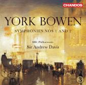 Album artwork for Bowen: Symphonies Nos 1 and 2