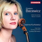 Album artwork for Bacewicz: Violin Concertos, Vol. 2