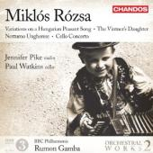 Album artwork for Miklós Rózsa: Orchestral Works, Vol. 2