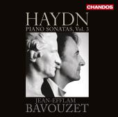 Album artwork for Haydn: Piano Sonatas, Volume 3 / Bavouzet