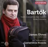 Album artwork for Bartok: Violin Concertos 1 & 2, Viola Concerto /