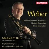 Album artwork for Weber: Clarinet Concertos & Concertinos