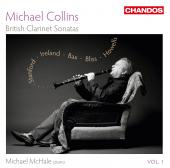 Album artwork for Michael Collins: British Clarinet Sonatas