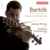 Album artwork for Bartók: Violin Sonatas & Rhapsodies