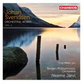 Album artwork for Svendsen: Orchestral Works Vol. 2 / Jarvi