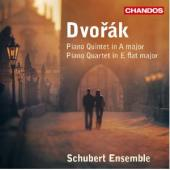Album artwork for Dvorak: Piano Quintet in A major / Piano Quartet i