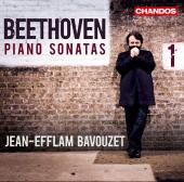 Album artwork for Beethoven: Piano Sonatas vol. 1 - Bavouzet