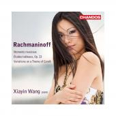 Album artwork for Rachmaninov: Moments musicaux, etc. / Wang