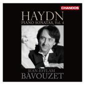 Album artwork for Haydn: Piano Sonatas vol. 4 / Bavouzet
