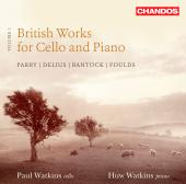 Album artwork for British Works for Cello and Piano / Watkins
