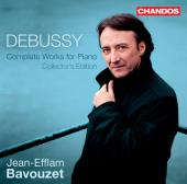 Album artwork for Debussy: Complete Piano Music / Bavouzet