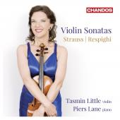Album artwork for R. Strauss / Respighi: Violin Sonatas - Tasmin Lit