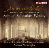 Album artwork for Wesley: Sacred Choral Works