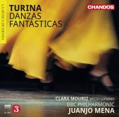 Album artwork for Turina: Danzas Fantasticas / Mena