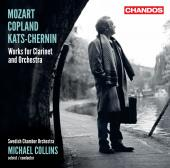Album artwork for Michael Collins: Mozart, Copland, Kats-Chernin