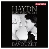 Album artwork for V 5: HAYDN PIANO SONATAS / Bavouzet