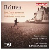Album artwork for Britten: Piano Concerto / Violin Concerto