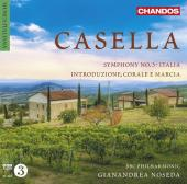 Album artwork for Casella: Symphony 3, Italia / Noseda