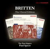 Album artwork for Britten: Choral Edition