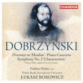Album artwork for Dobrzynski: Symphony no. 2 / Piano Concero