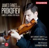 Album artwork for Prokofiev: Complete Music for Violin / Ehnes
