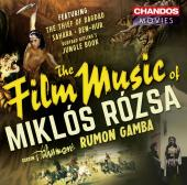 Album artwork for The Film Music of Miklos Rozsa / Gamba