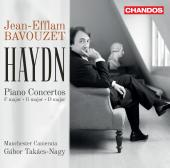 Album artwork for Haydn: Piano Concertos Nos. 3, 4 & 11 / Bavouzet