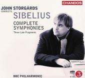 Album artwork for SIBELIUS SYMPHONIES Storgards
