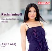 Album artwork for Rachmaninoff: Piano Sonatas 1 & 2 / Wang