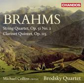 Album artwork for Brahms: String Quartet, Clarinet Quintet