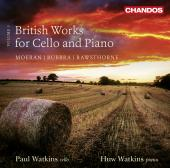 Album artwork for British Works for Cello and Piano vol.3
