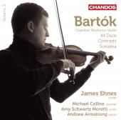 Album artwork for Bartok: Chamber Works for Violin Vol. 3 / Ehnes