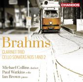 Album artwork for Brahms: Cello Sonatas & Clarinet Trio