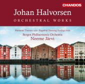 Album artwork for Halvorsen: V 1-4: Orchestral Works
