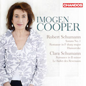 Album artwork for Cooper plays Schumann