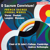 Album artwork for O Sacrum Convivium - French Sacred Choral Works